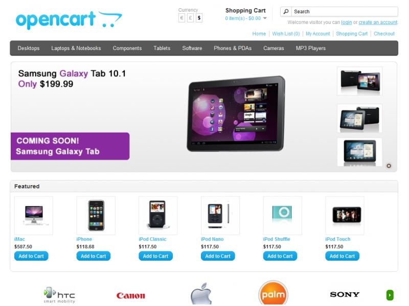 IcopWeb - Κατασκευή Ιστοσελίδων - Eshop Κατασκευή eshop με Opencart Κατασκευή E-shop